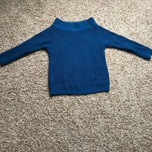 Blue Sweater from Express